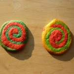 Regenbogen-Kekse