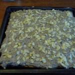 Mohn-Blechkuchen mit Zwetschkenfüllung