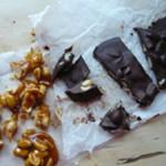 Karamell-Erdnüsse, Schoko-Erdnüsse