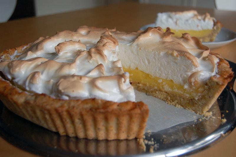 Lemon Meringue Pie Zitronen Baiser Torte Rezept