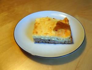 Maroni Topfen Kuchen