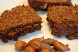 Schoko-Nuss-Brownies
