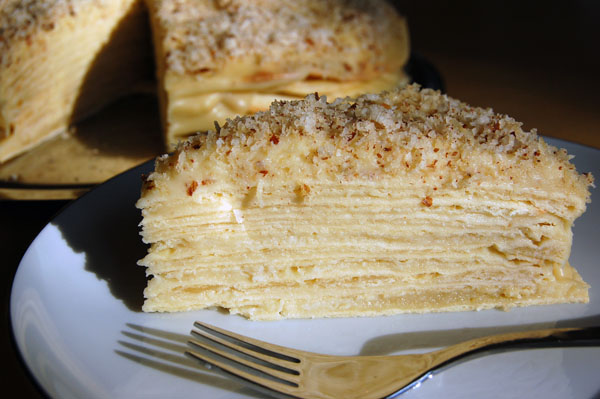 Rezept Napoleon Torte, Torte Napoleon, Napoleon Cake